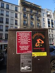 """Aussi longtemps que l'on dira """"toi ou moi"""" (Jeanne Menjoulet) Tags: paris affiche brecht compagniejoliemôme capitalisme guerre"""