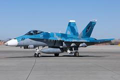 163458 F/A-18C Hornet - 23 / NSAWC - NAS Fallon, NV (David Skeggs) Tags: aircraft airplane aeroplane military usn usnavy naswc topgun fighterweaponsschool fallon davidskeggs aggressor avgeek f18 hornet fa18c