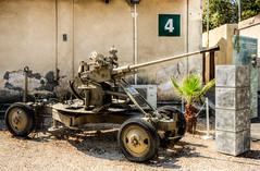 anti-aircraft artillery (maskirovka77) Tags: israeldefenseforces idf museum idfmuseum tanks m48 outdoors hdr armoredcar artillery antiaircraft armoredpersonnelcarrier bridgingequipment