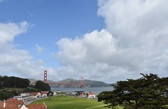 The Presidio and Golden Gate Bridge (stevelamb007) Tags: california sanfrancisco goldengatebridge militarypost stevelamb nikon d7200 nikkor18200mm landscape presidio fortwinfieldscott
