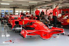 Ferrari F1-F2008 #266 (aguswiss1) Tags: ferrarif1f2008266 ferrari f1f2008 266 f1 f1clienti racecar paddock pit wheelsoff red 2008 f2008 racer f1car car rennauto renner ferrarirot