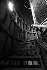 Inside of the Lighthouse (alexander.alechits) Tags: ©alexanderalechits canonef1635mmf4lisusm canoneos5dmarkiii sakhalin russia bw lighthouse sea seaside маяк сахалин побережье