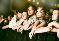Waiting for Slowdive (kirstiecat) Tags: crowd people strangers slowdive fans audience austin concert texas moment beautiful canon