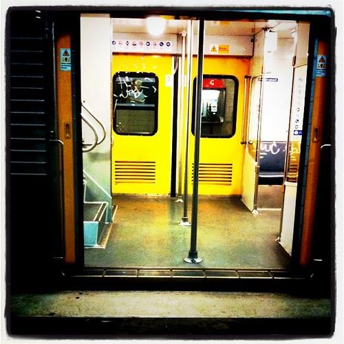 Crusty Silver Train