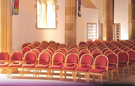 EHB1 chairs they are at Greyfriars Church Reading and is a C of E