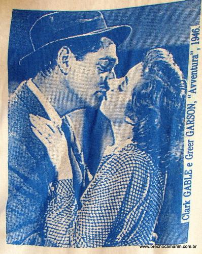 Clark Gable e Greer Garson