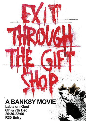 "Banksy's ""Exit through the Gift Shop"""