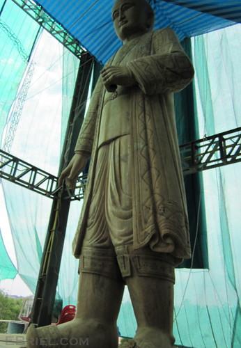 statue rama II