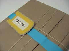 Etiqueta de feltro