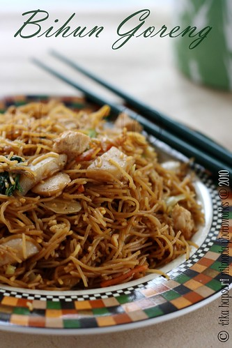 (Homemade) Bihun Goreng / Fried Bee Hoon