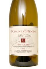 """2009 Domaine Saint Nicolas """"Les Clous"""" Fiefs Vendens Blanc"""