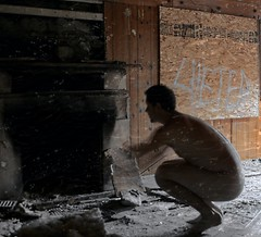 Warm for the winter (Jason Knight lostlosangeles) Tags: wood house selfportrait texture abandoned nude graffiti losangeles fireplace ruins underwater urbandecay ruin progress cc burn ashes ghosts ccc graff derelict burned dreamcatcher selfie lostlosangeles ghostsofprogress ghostsofcapital ghostsofcapitol