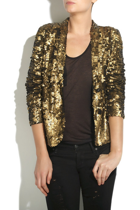 gold sequin jacket from antik batik