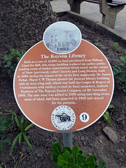Photo of Orange plaque № 5086
