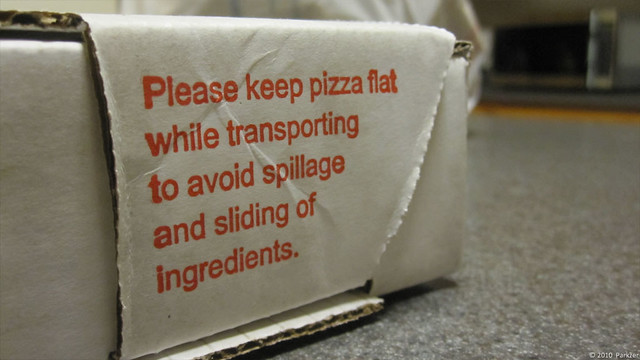 Keep Pizza Flat