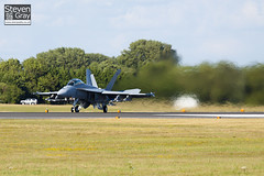 166923 - Boeing Military Aircraft - Boeing FA-18F Super Hornet - 100717 - Fairford - Steven Gray - IMG_1196
