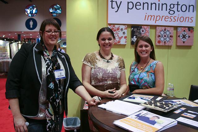 Tula Pink, Anna Maria Horner, and Leann Spadaro