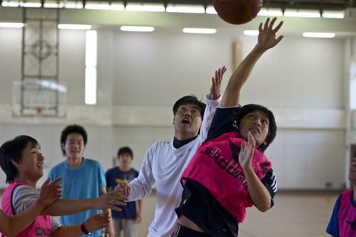 Basketball - Intento de robo