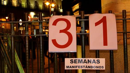 Concentración contra la impunidad del Franquismo (02/12/2010)