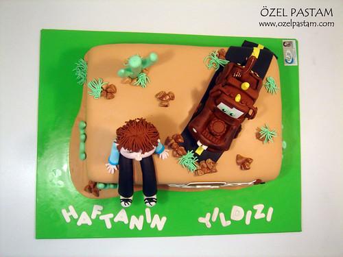 Poyraz'ın Mater Pastası / Tow Mater Cake