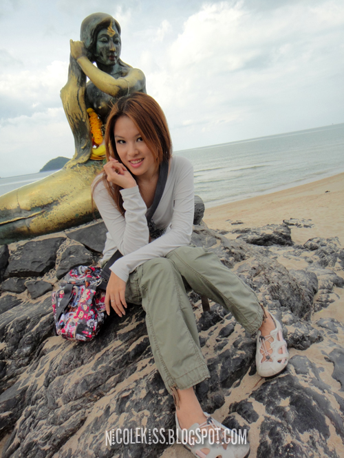 me and the samila beach mermaid