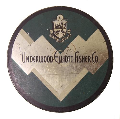 Farbbanddose UNDERWOOD ELLIOTT FISHER CO.