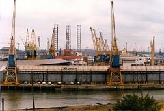 Albert Edward Dock in 1984 (colin9007) Tags: dock albert north tyne quay edward commission shields