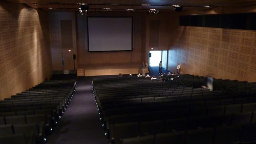 Auditorium, Visit conference venue