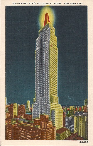 (Undated) Empire State Building Postcard (Front)