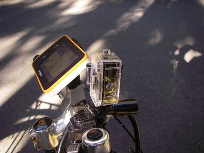 Logitec スポーツSDカメラ 取り付け
