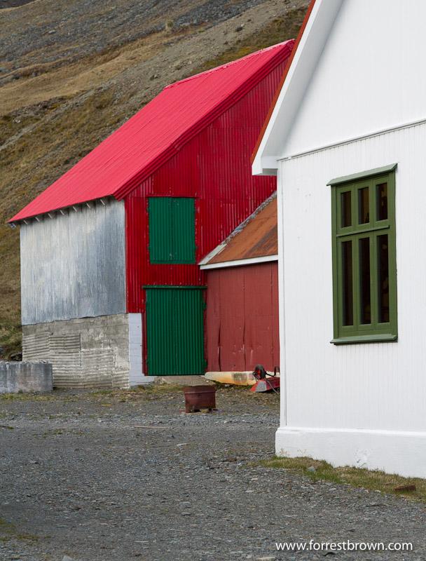 Grytviken, Buildings