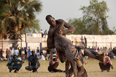 South Sudan traditional wrestling (BenedicteDesrus) Tags: sport wrestling sudan entertainment combat wrestlers dinka grappling juba traditionalsport southernsudan traditionalgame handtohandcombat wrestlingmatch athleticactivity mundari wrestlingcompetition jubastadium southsudanwrestling clinchfightingfighting grapplingholds physicalcompetition sudanesewrestler
