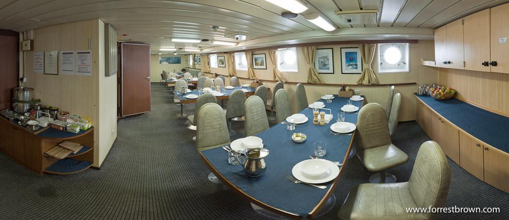 Polar Pioneer, Dinning Room, Panorama