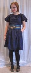 Front (sewyerown) Tags: dress purple dresses 5661 challis akris bubblesleeve mccalls5661 mccall5661 woolchallis m5661