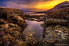 Watch your step - Exploring the coast of Maine (MDSimages.com) Tags: travel rocks maine newengland coastal hdr travelphotography photomatix michaelsteighner mdsimages