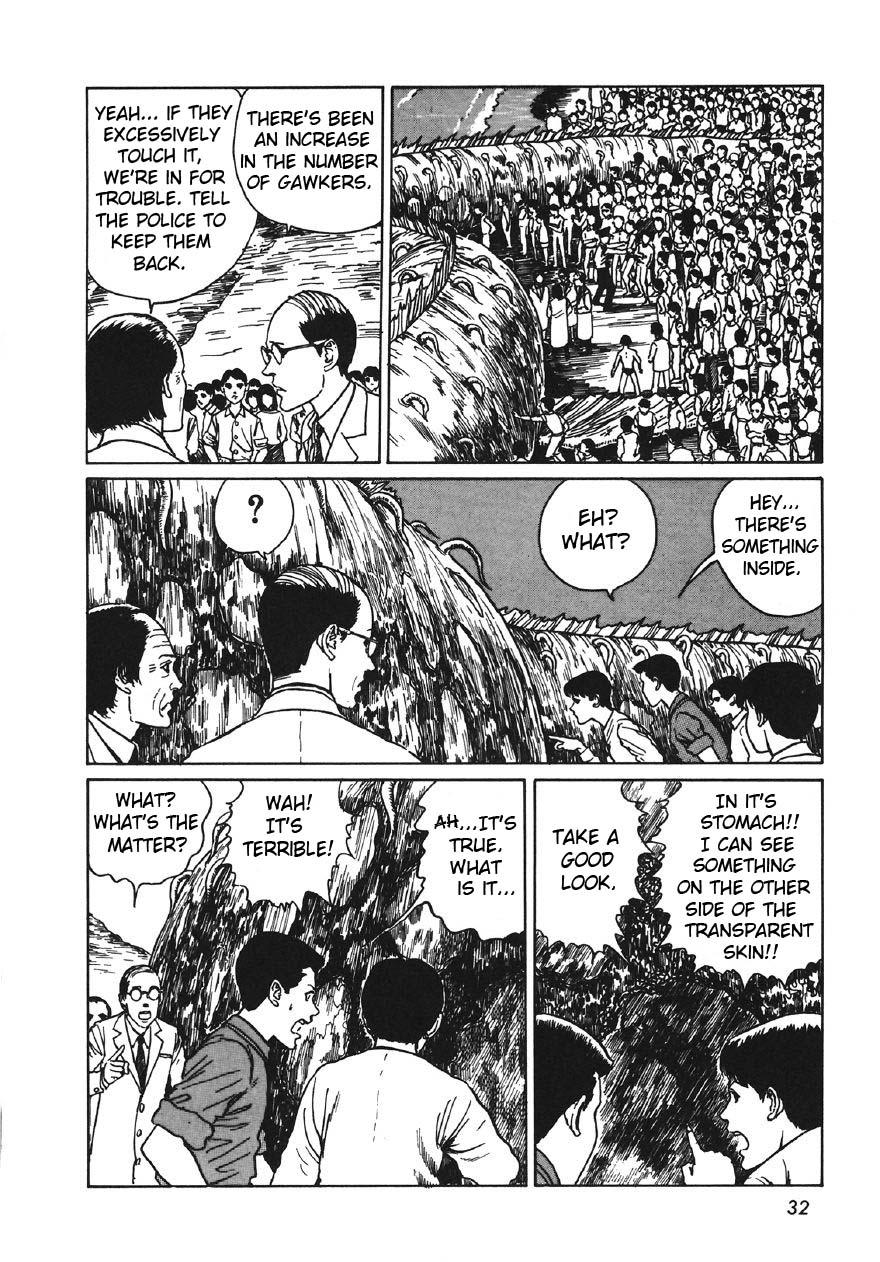 Junji Ito - Thing That Drifted Ashore 14