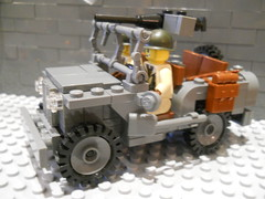 Brickmania Willys Jeep w/o Canvas (atam58) Tags: dan cool lego jeep daniel awesome canvas ww2 without willys siskind mmcb brickmania