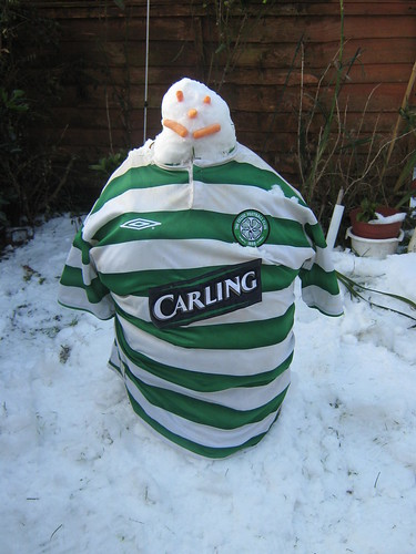 Glasgow Celtic Snowman