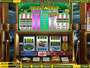 Triple Triple Gold slot game online review