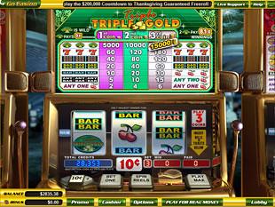 Triple Triple Gold slot game online review