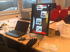 Klein touch screen met Buzzcuit op de HvA (camomile30) Tags: travel autumn netherlands contextwatcher celltagged geotagged december day cloudy dry moonlight friday noordholland duivendrecht moderatebreeze cell:mcc=204 cell:mnc=4 cell:lac=110 iyouit geo:range=2500 location:dayhour=13 weather:feel=cold location:continent=europe location:timezone=1 weather:humidity=high weather:pchange=steady weather:tstorm=low weather:uv=low weather:uvmax=low weather:visibility=high weather:coverage=high weather:rain=high weather:realfeel=cold weather:dir=west weather:moonstate=waxingcrescent weather:pressure=heigh phone:orientation=slanted phone:direction=010904 novay location:nstep=0 location:nbike=0 schermnovay geo:lat=52330989 geo:long=4929355 location:postalcode=1115 location:street=amstel cell:cellid=46482005