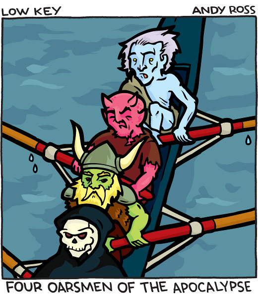 Four Oarsmen of the Apocalypse