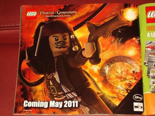 LEGO Disney – Fluch der Karibik Jack Sparrow, Minifig