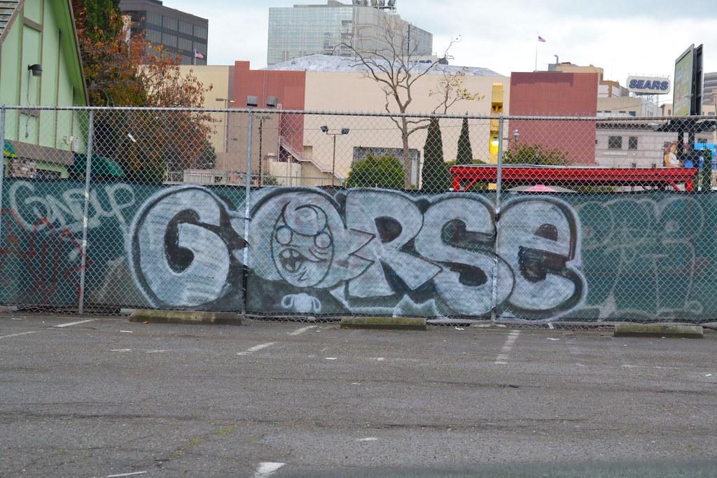 GORSE, STEW, CK, Graffiti, Street Art, Oakland,