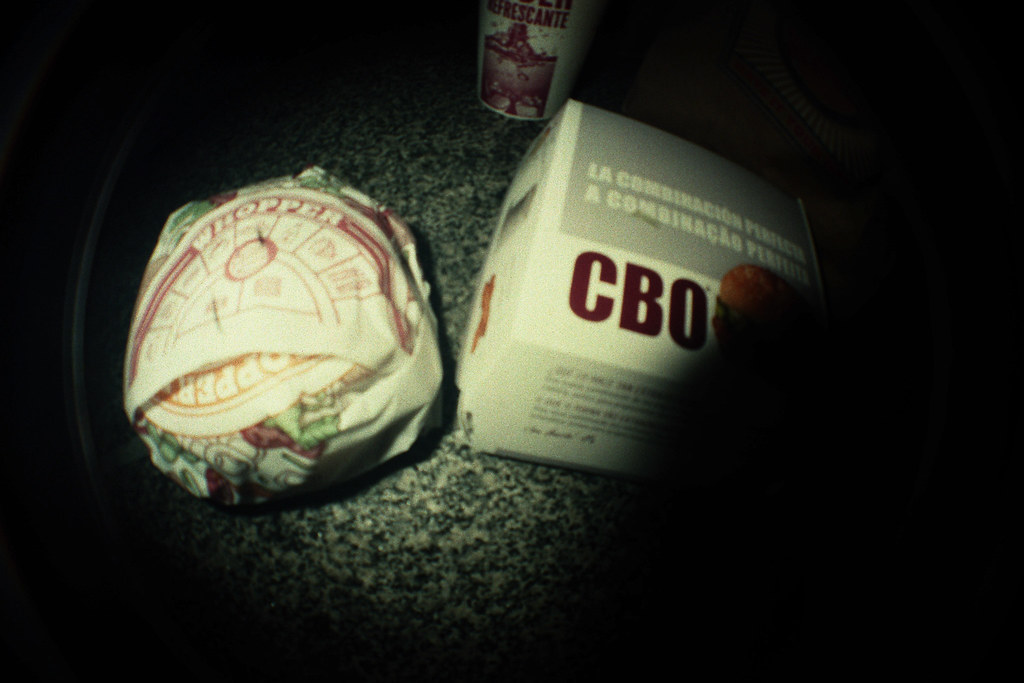 Fast food from Burger King and MacDonalds, or the other way around :)