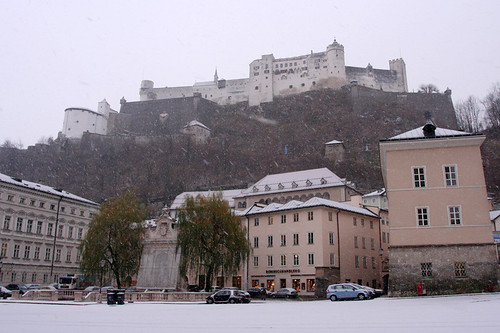 fortress in the snow