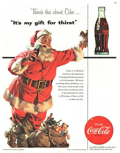 """It's my gift for thirst"" Coke ad"