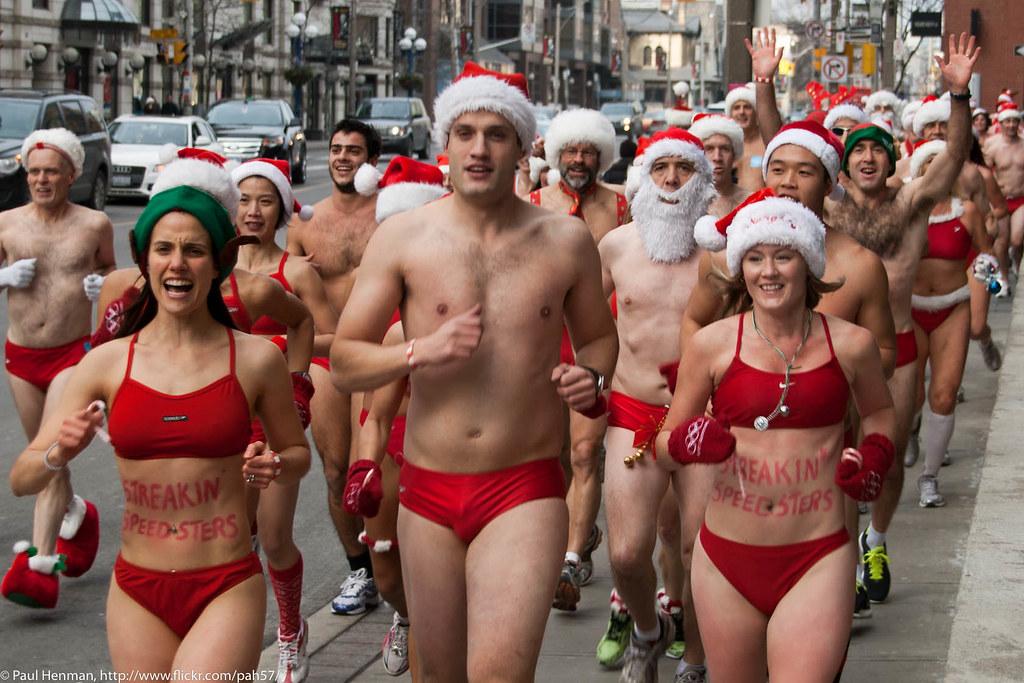 Toronto Santa Speedo Run