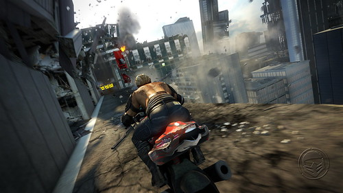 MotorStorm Apocalypse for PS3: Skyline track