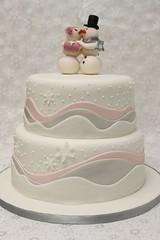 Hochzeitstorte Winter Schneeflocken Eiskristalle (suess-und-salzig) Tags: schnee winter wedding snow cake snowflakes stuttgart trend eis hochzeit hochzeitstorte ulm essling